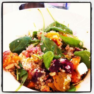 Quinoa Pumpkin Salad