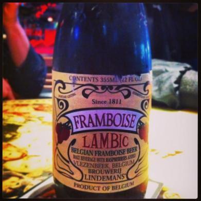 Framboise Beer