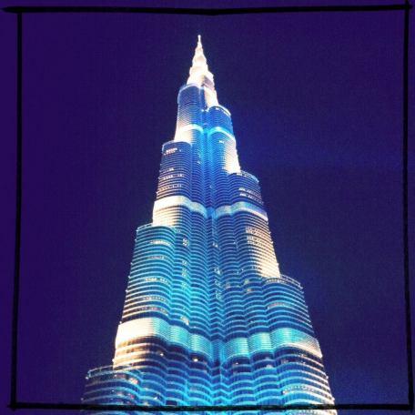 Burj Khalifah, Dubai, 2013