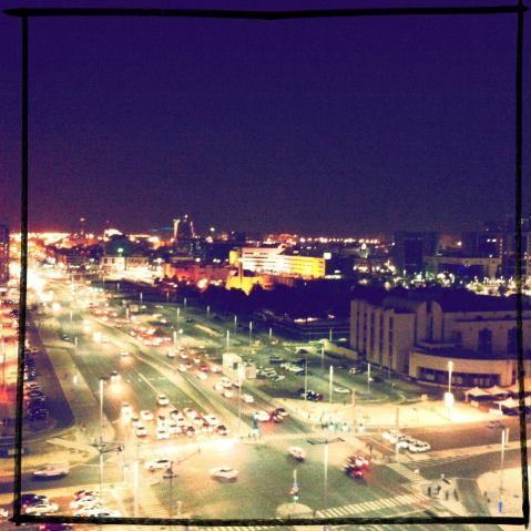 Night, Abu Dhabi, 2013
