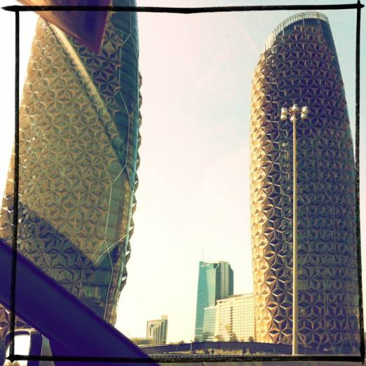 Pineapple Buildings, Abu Dhabi