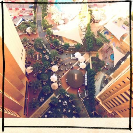 Up from below, Dubai, 2013