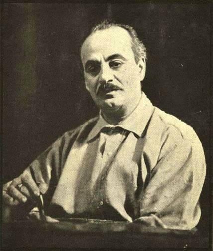 Gibran Khalil Gibran January 6, 1883 - April 10, 1931 'For what is it to die but to stand naked in the wind and to melt into the sun? And what is it to cease breathing but to free the breath from its restless tides, that it may rise and expand and seek God unencumbered?'