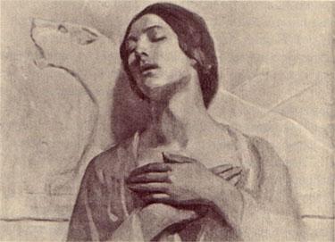 kamilah, gibran's mother