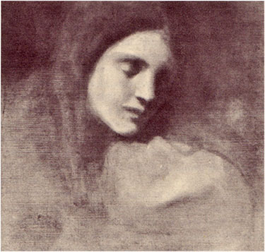 Marianna, Gibran's sister, painted by Khalil Gibran