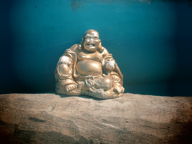 Buddha on the beach - Trincomalee