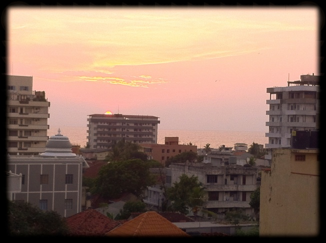 Sunset - Colombo - Sri Lanka
