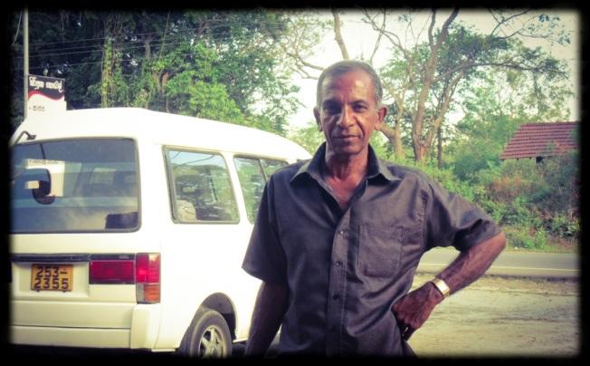 Sarath, driver, Sri Lanka