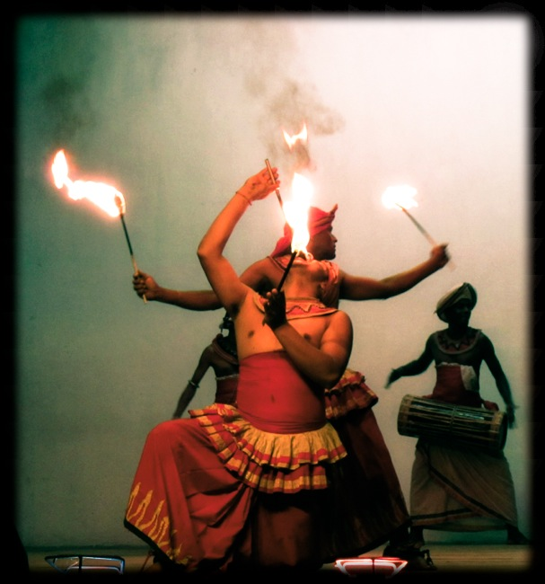 Fire Dancers, Kandy