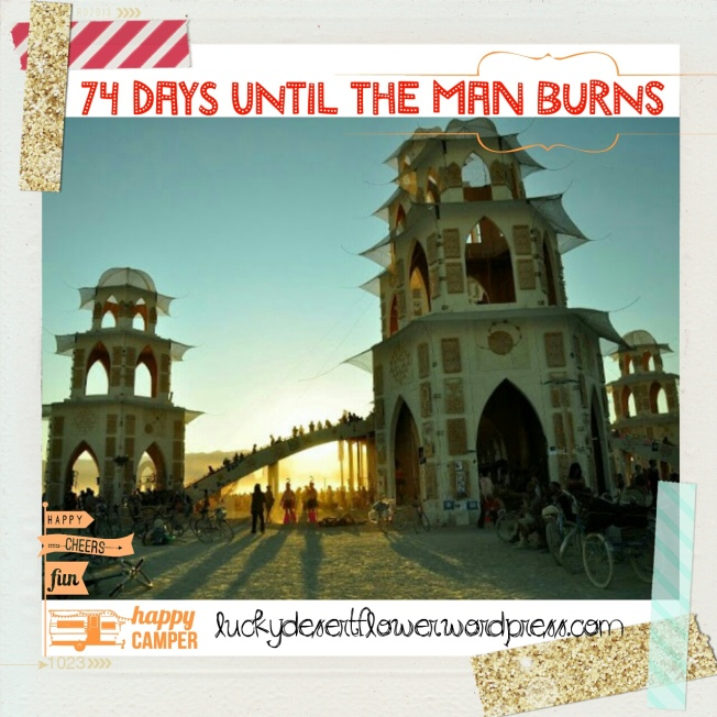 74 days until the man burns